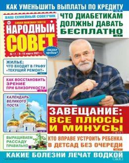 Народный совет №11 март 2021...